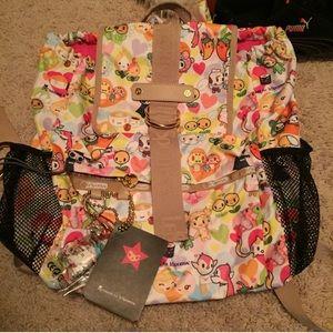 Tokidoki x leSportSac La Amore Backpack NWT